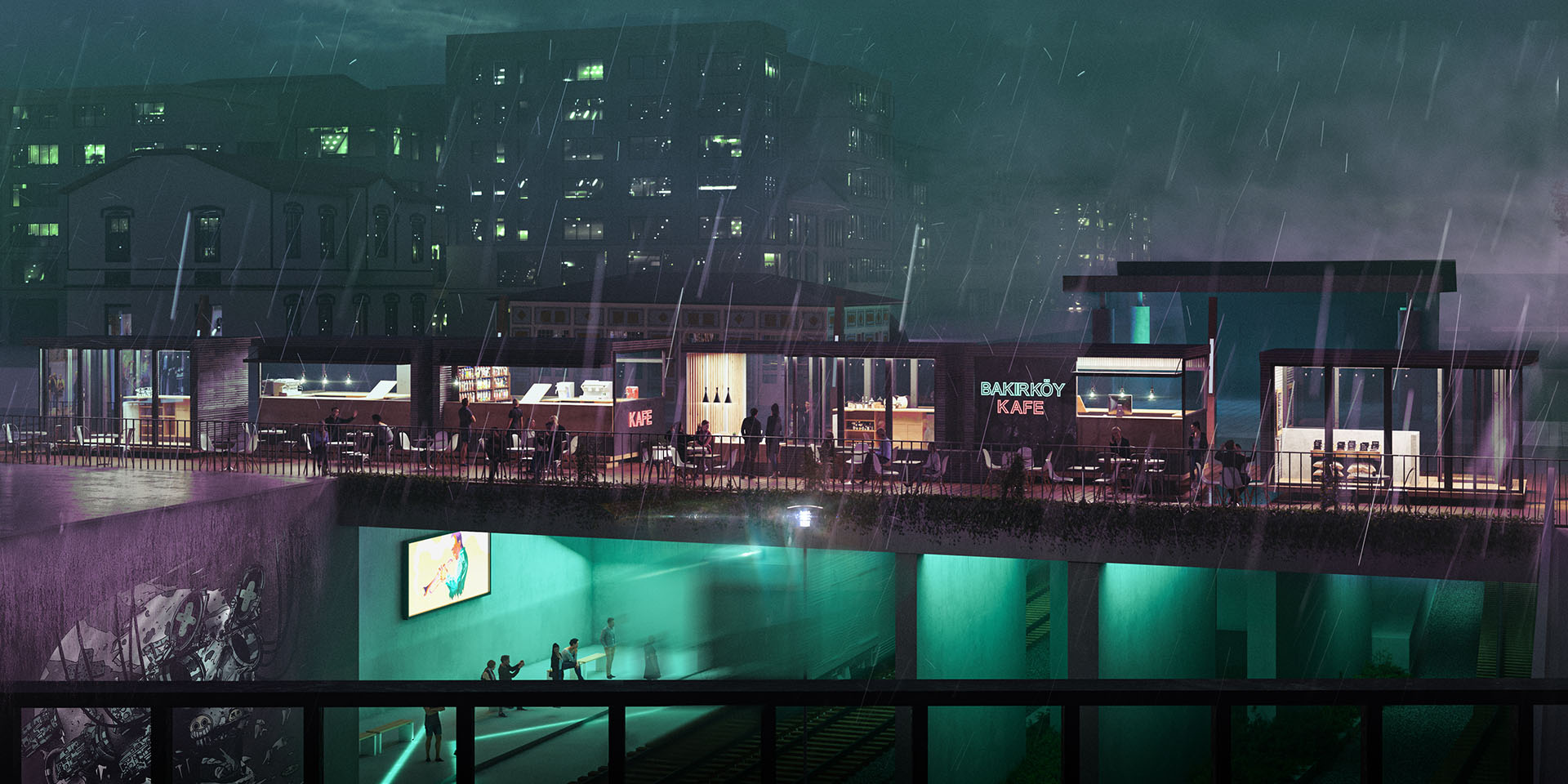 Bakirkoy Square Competition