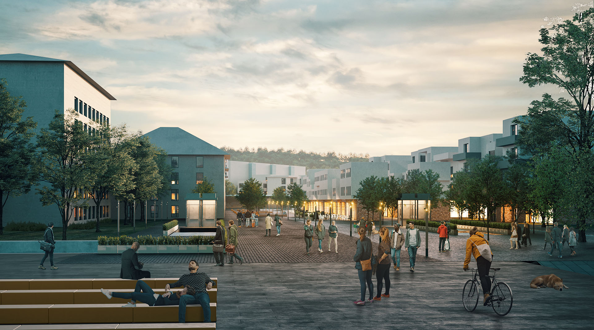 Veliko Tarnovo New City Center Masterplan