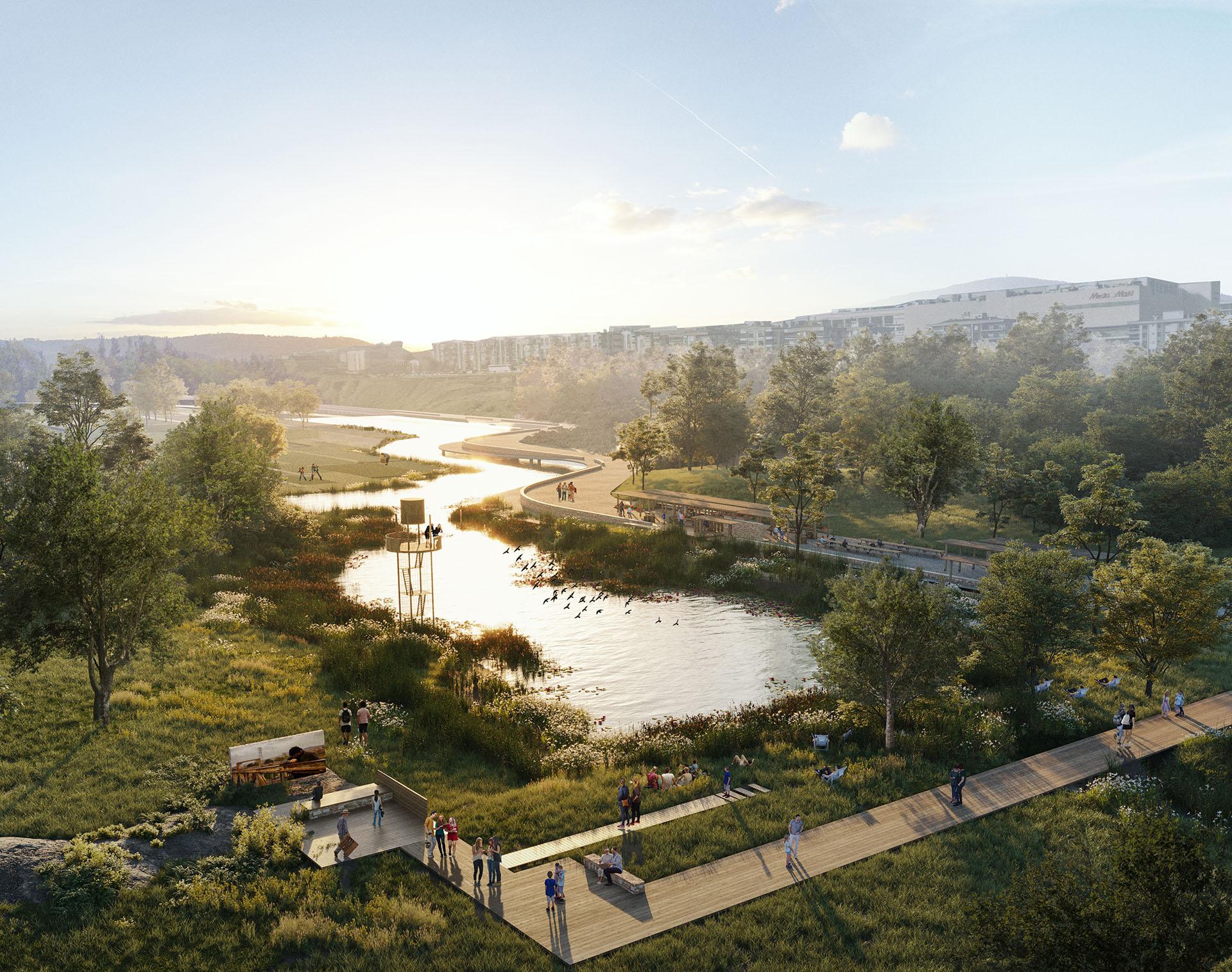 Meles Riverfront